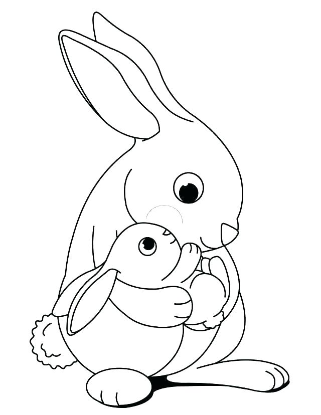 640x828 Free Printable Bunny Coloring Pages Gangster Bugs Bunny Coloring