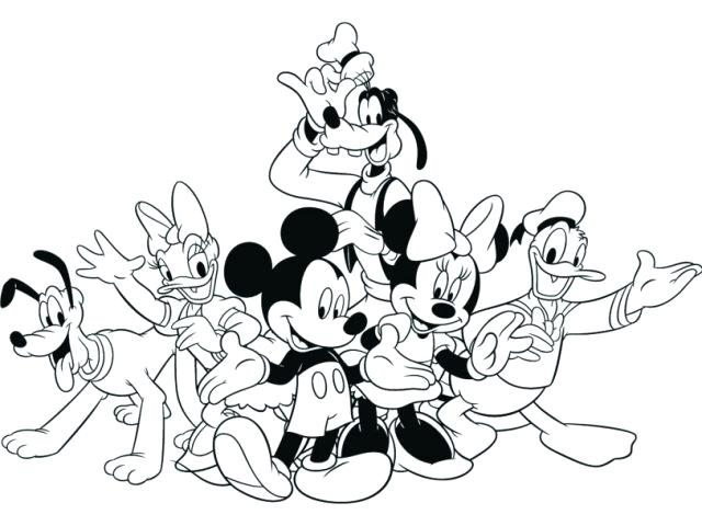 640x480 Coloring Book Mickey Mouse Mickey Mouse Coloring Books And Mickey