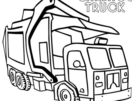 Garbage Coloring Page