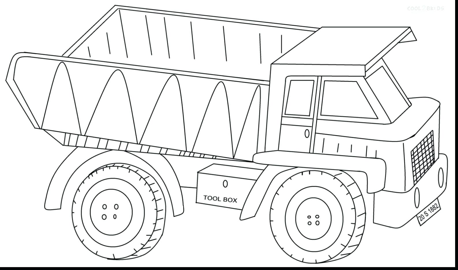 1587x935 Dump Truck Coloring Pages With Dump Truck Coloring Pages