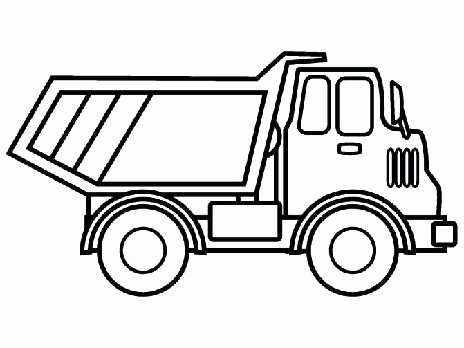 671x503 Garbage Truck Printable Coloring Pages Pictures Coloring Pages