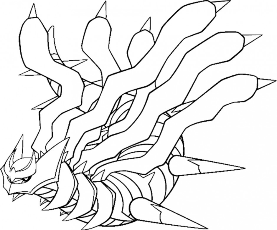 940x781 Pokemon Diamond Pearl Coloring Pages