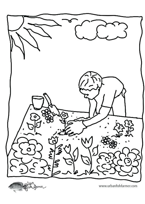 603x848 In The Night Garden Colouring Pages Gardening Colouring Pages