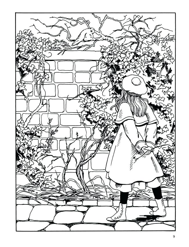 650x847 Garden Coloring Pages Vegetable Garden Coloring Sheets Spring