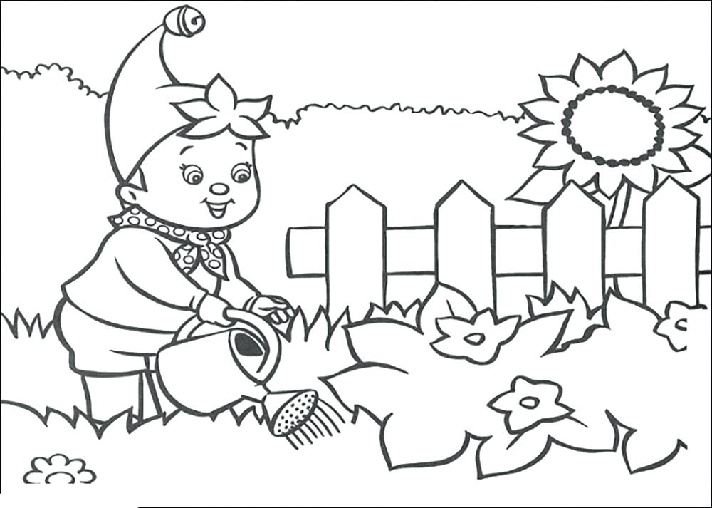1000x713 In The Night Garden Colouring Pages Gardening Colouring Pages