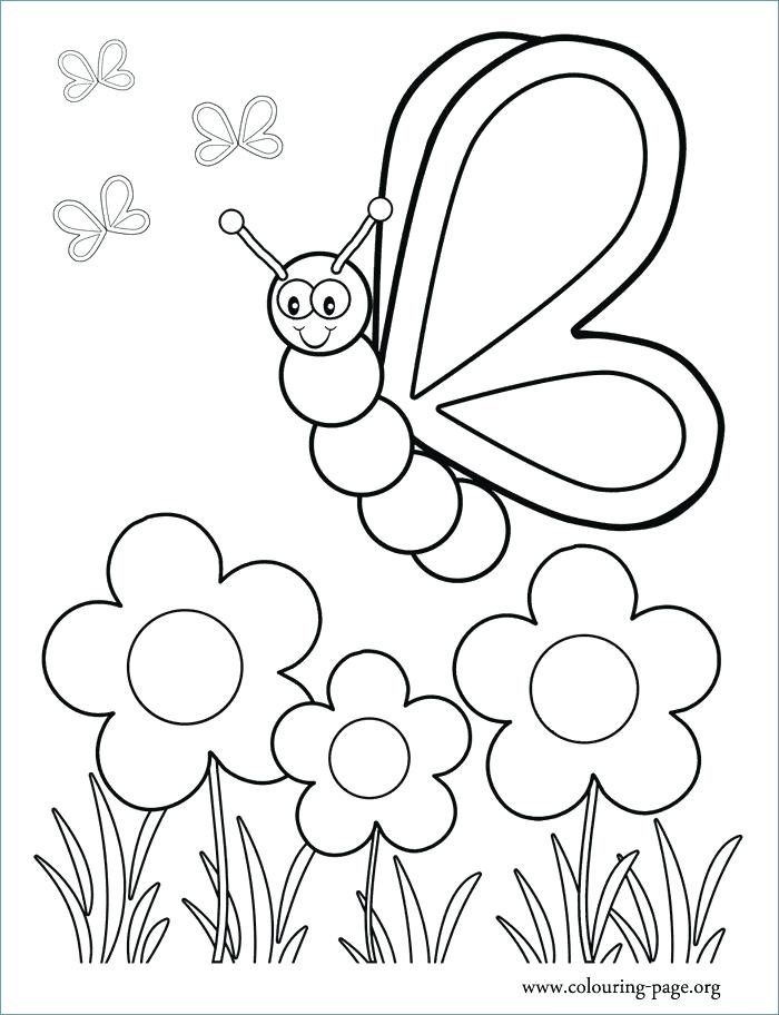 700x912 Spring Coloring Pages Simple Fun For Kids Spring Garden Coloring
