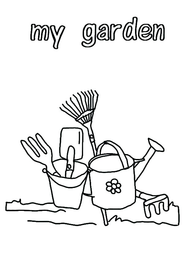 600x844 Gardening Coloring Pages For Preschool Click Here To Download Your