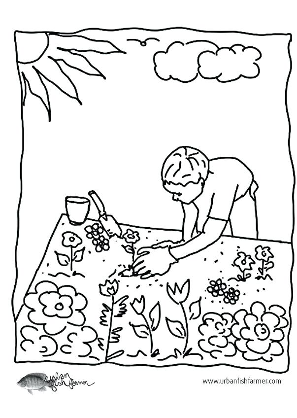 603x848 H Coloring Pages H Coloring Sheets Coloring Pages Of Gardens