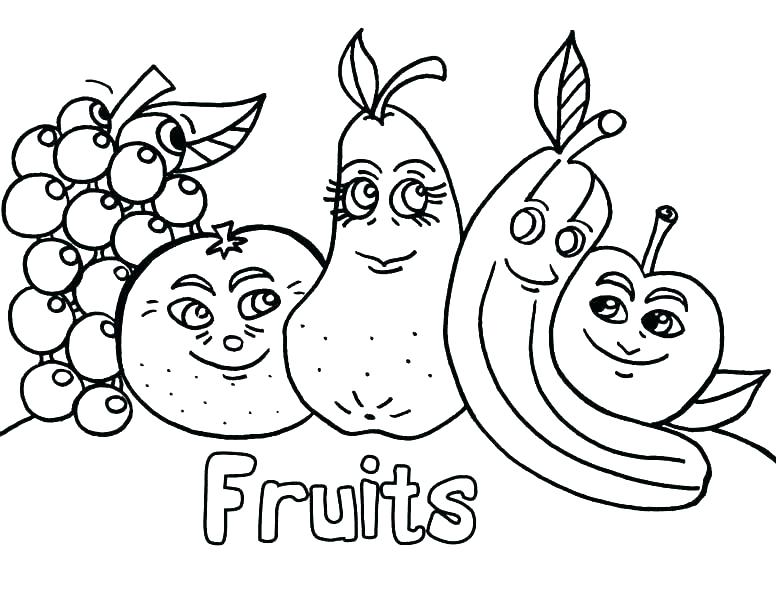 776x600 Vegetable Coloring Pages Vegetables Coloring Pages Free Vegetable