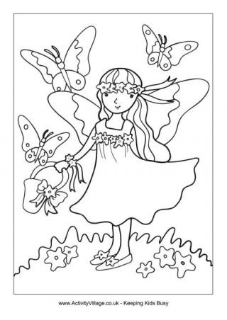 320x452 Beautiful Garden House Coloring Pages Home Decor Interior