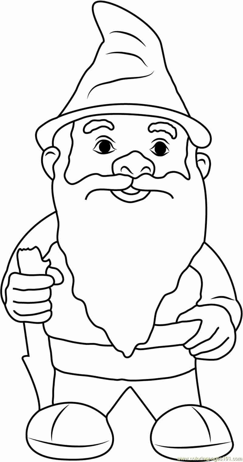 800x1521 Garden Gnome Coloring Pages Ebcs Incredible Olegratiy