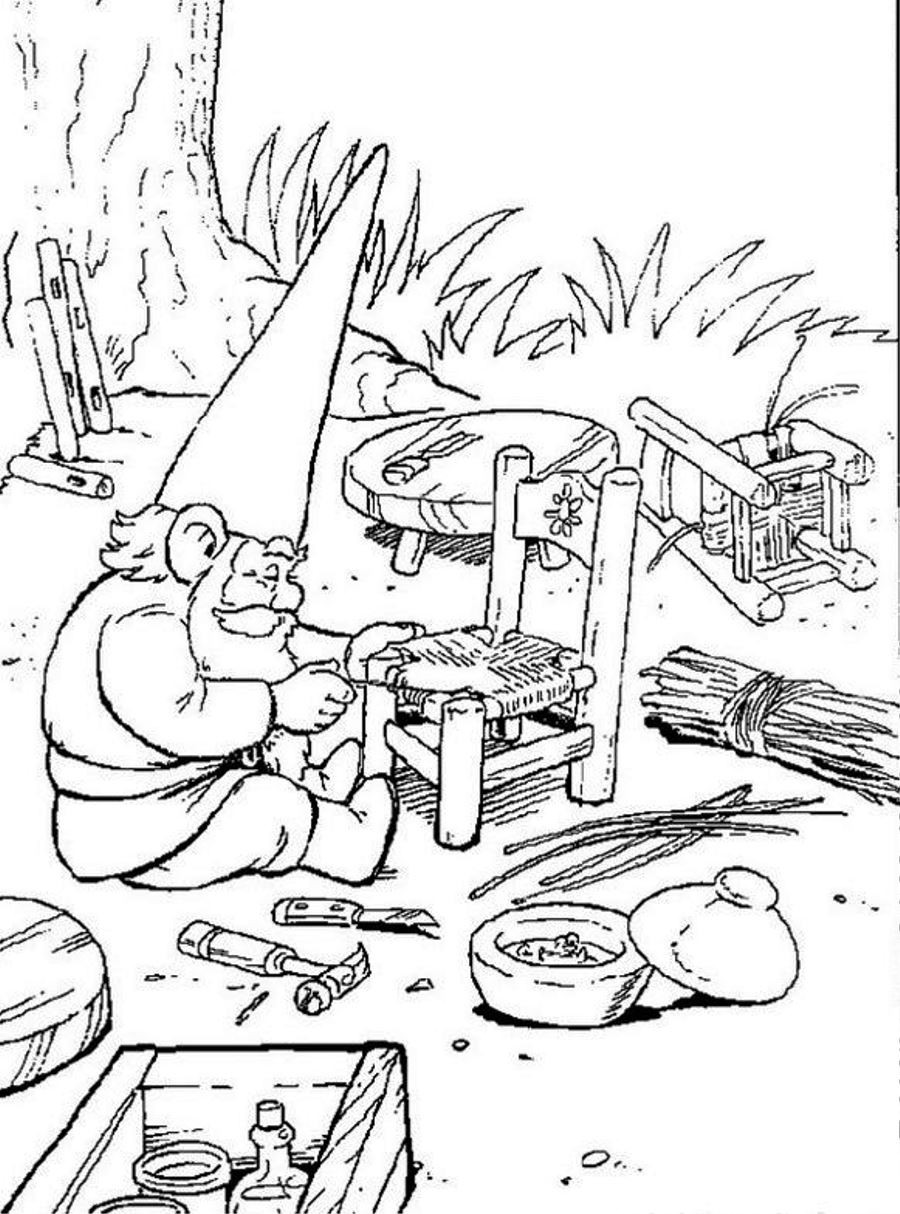 900x1214 Garden Gnome Coloring Pages Freecolorngpages Co Arresting