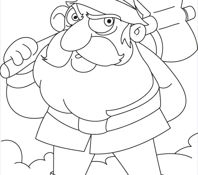 678x600 Gnome Coloring Pages Gnome Coloring Pages This Gnomes Is Going