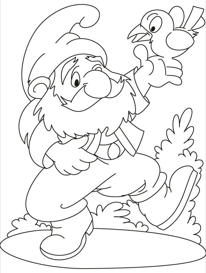 720x954 Gnome Coloring Pages Lovely Gnome Printable Coloring Pages Logo