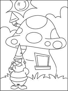 236x314 Gnome Coloring Pages Printable Fantasy Gnomes Print Coloring