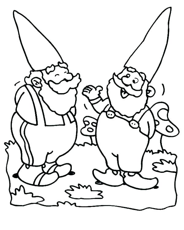 600x748 Best Gnomes Images On Gnomes Colouring The Gnome Coloring Pages