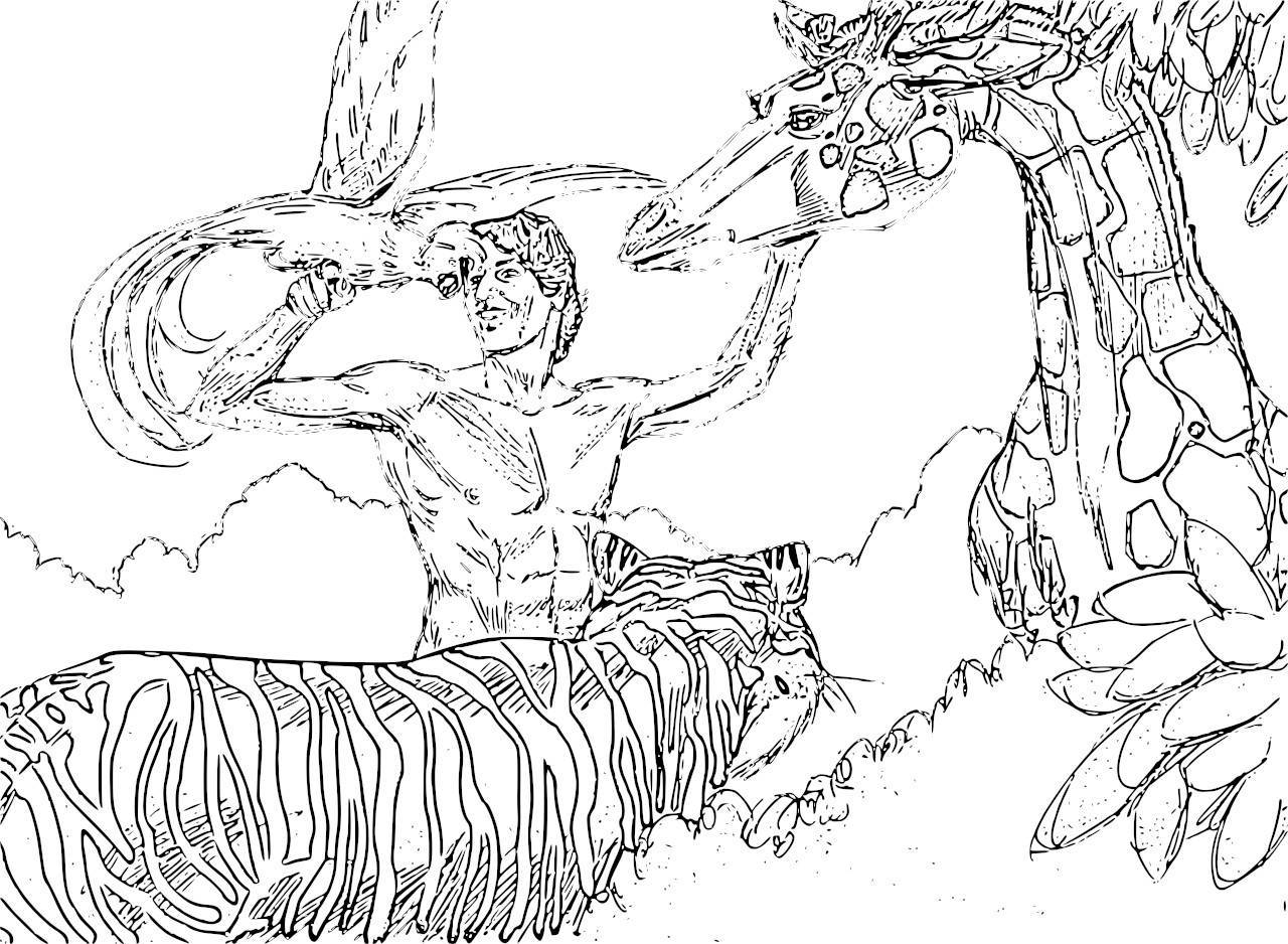 1280x938 Astonishing Garden Of Eden Coloring Page New P