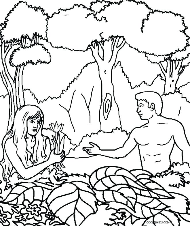 660x783 Blank Colouring Page Gods Truth For Garden Of Eden Coloring Page