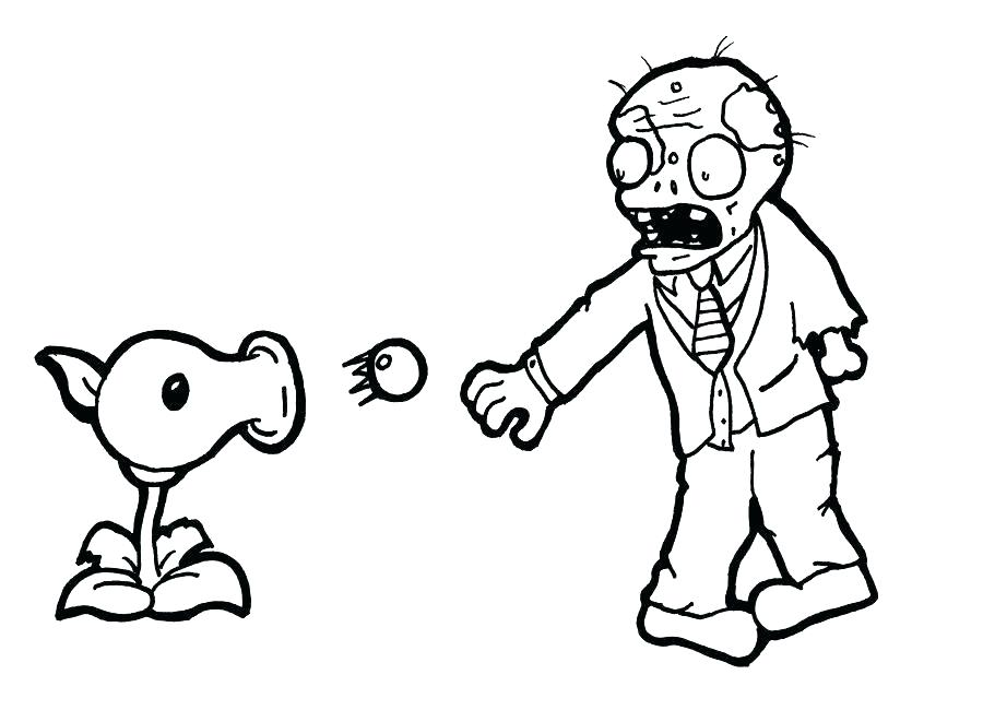 900x650 Plants Vs Zombies Garden Warfare Printable Coloring Pages Page