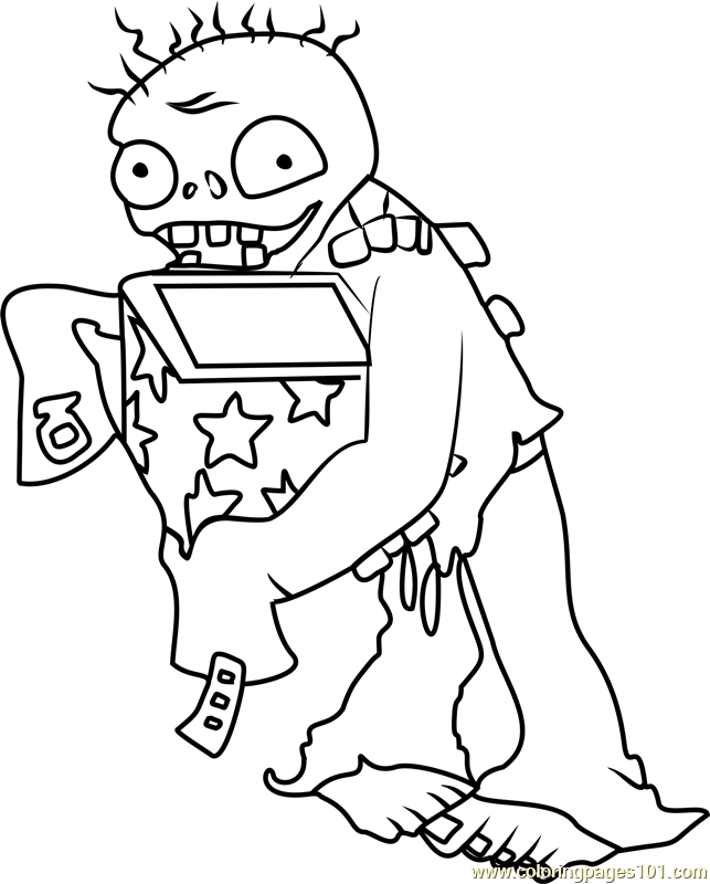 643x800 Plants Vs Zombies Coloring Pages Coloring Pages For Kids