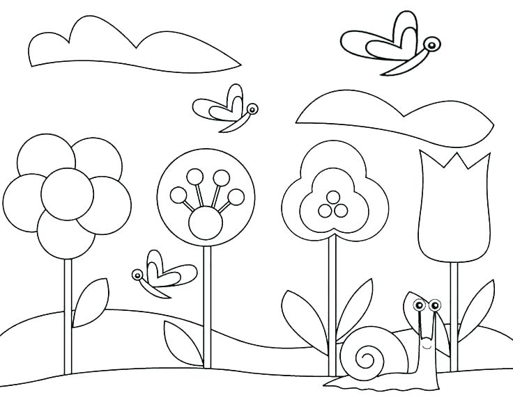 736x568 Gardening Coloring Pages Vegetable Garden Coloring Pages Gardening
