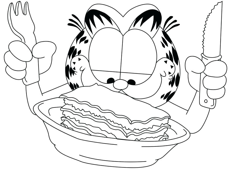 970x698 Garfield Christmas Coloring Pages Printable Coloring Color Pages