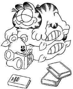 236x286 Garfield Christmas Tree Costume Garfield Coloring Pages