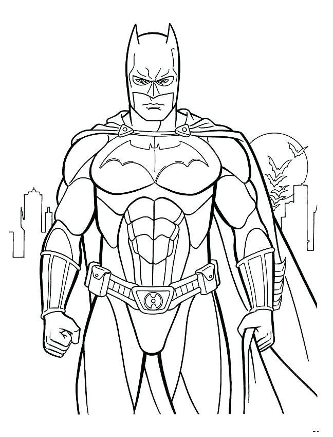 648x850 Batman Coloring Pages Batman And Gargoyle Batman Fighting