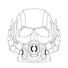 Gas Mask Coloring Pages