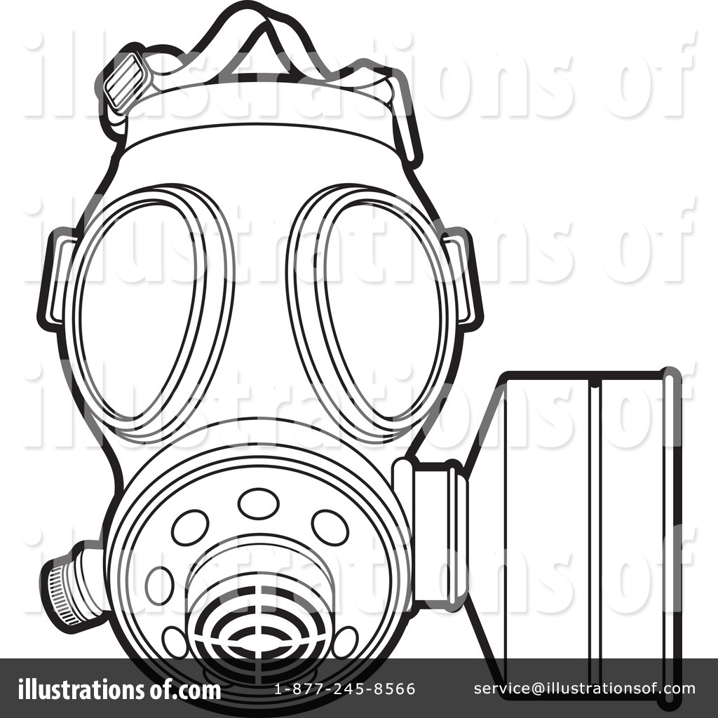 1024x1024 Gas Mask Clipart