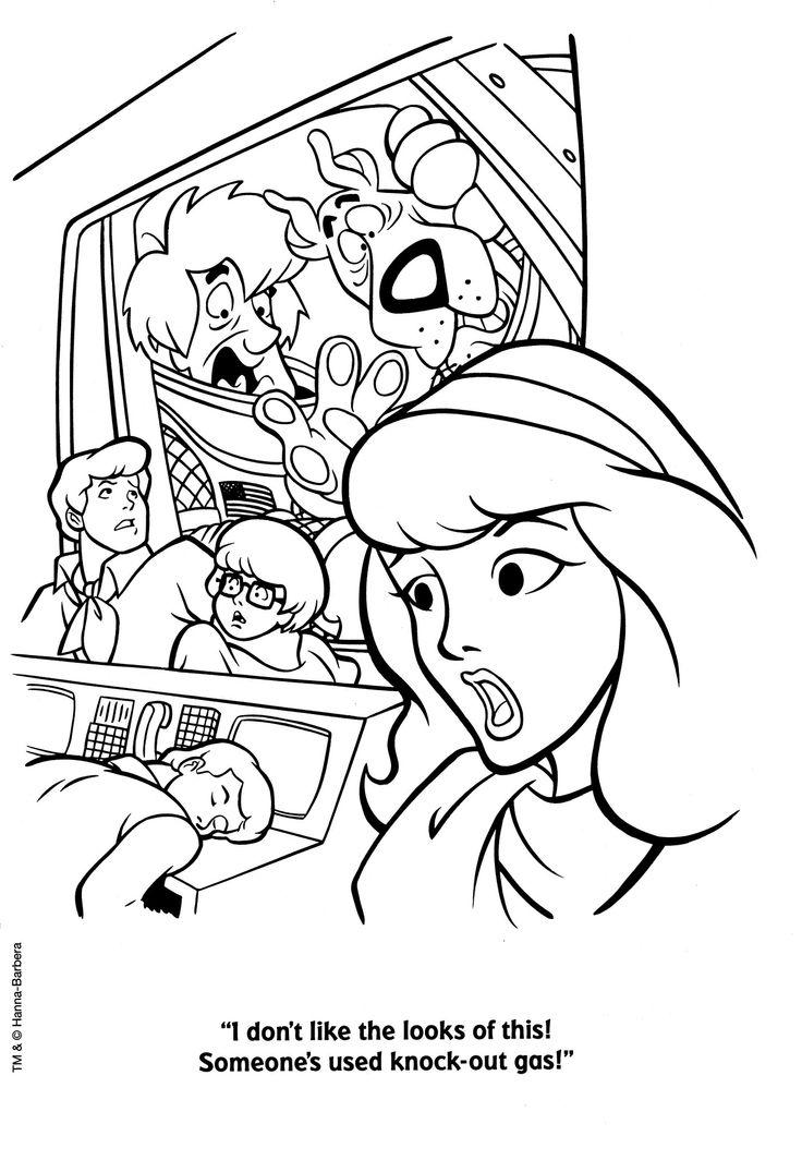 Gas Station Coloring Page