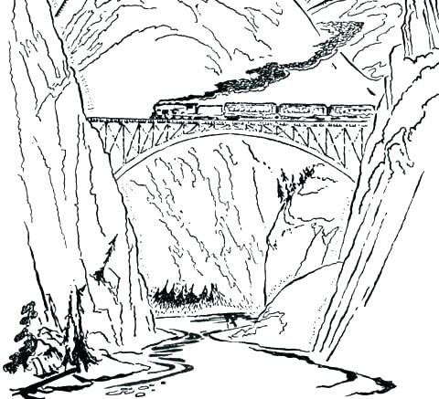 The Best Free Bridge Coloring Page Images Download From 169 Free
