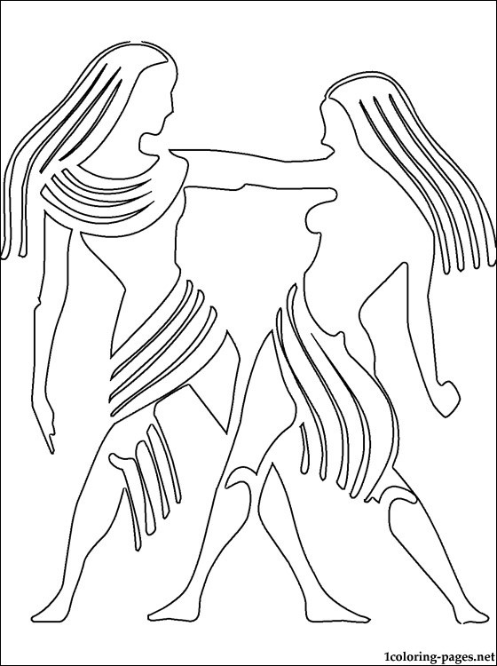 560x750 Gemini Coloring Page Coloring Pages
