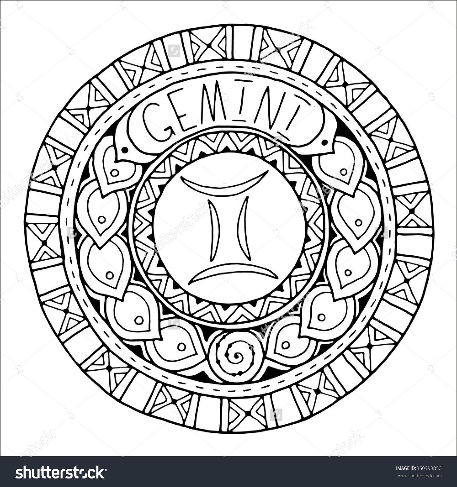 1500x1600 Zodiac Sign Of Gemini Shutterstock