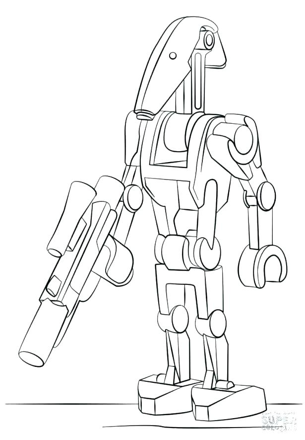 615x885 General Grievous Coloring Pages Clone Coloring Pages Best Clone