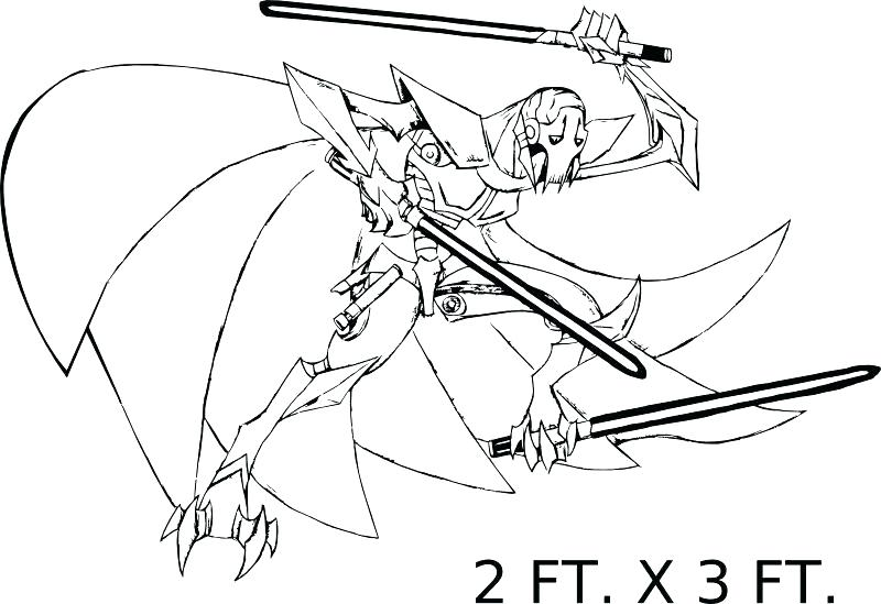 800x549 General Grievous Coloring Page Image Result For General Grievous