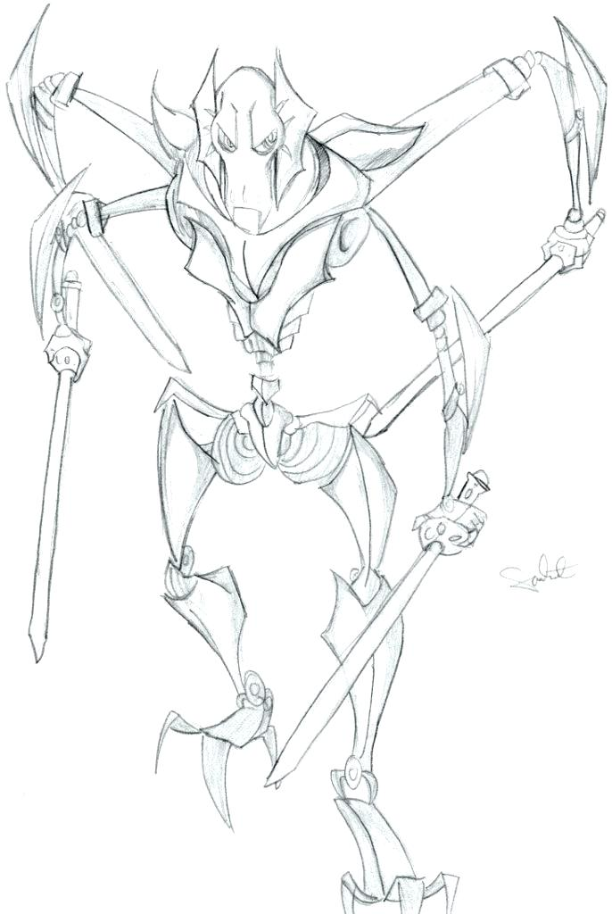 686x1024 Best Of General Lee Coloring Pages Images General Grievous