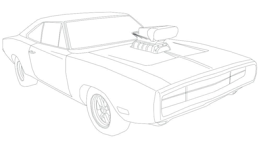 1026x641 General Lee Coloring Pages Coloring Fast And Furious Coloring