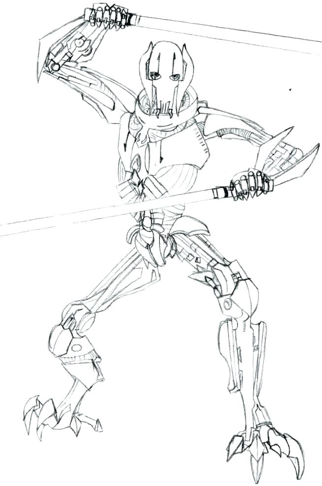 654x988 General Lee Coloring Pages General Grievous Coloring Pages General