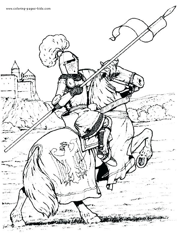 590x776 Medieval Coloring Pages Medieval Coloring Pages For Adults General