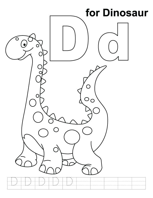612x792 Geography Coloring Pages Coloring Sheet The Letter D