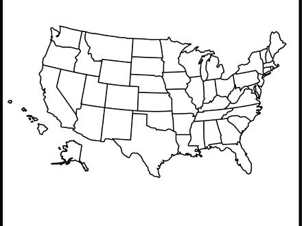 440x330 Geography Coloring Pages