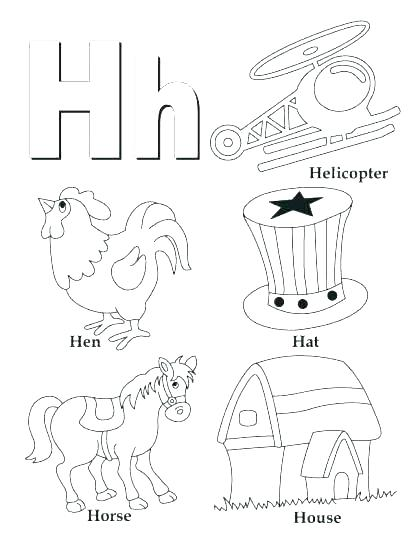 420x543 Letter N Coloring Page Letter C Coloring Pages For Preschoolers