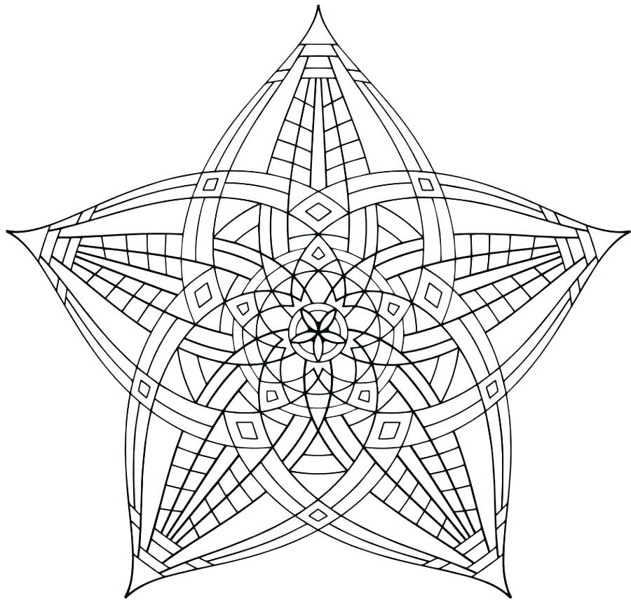 900x856 Geometric Coloring Pages Geometry Coloring Pages Black And White
