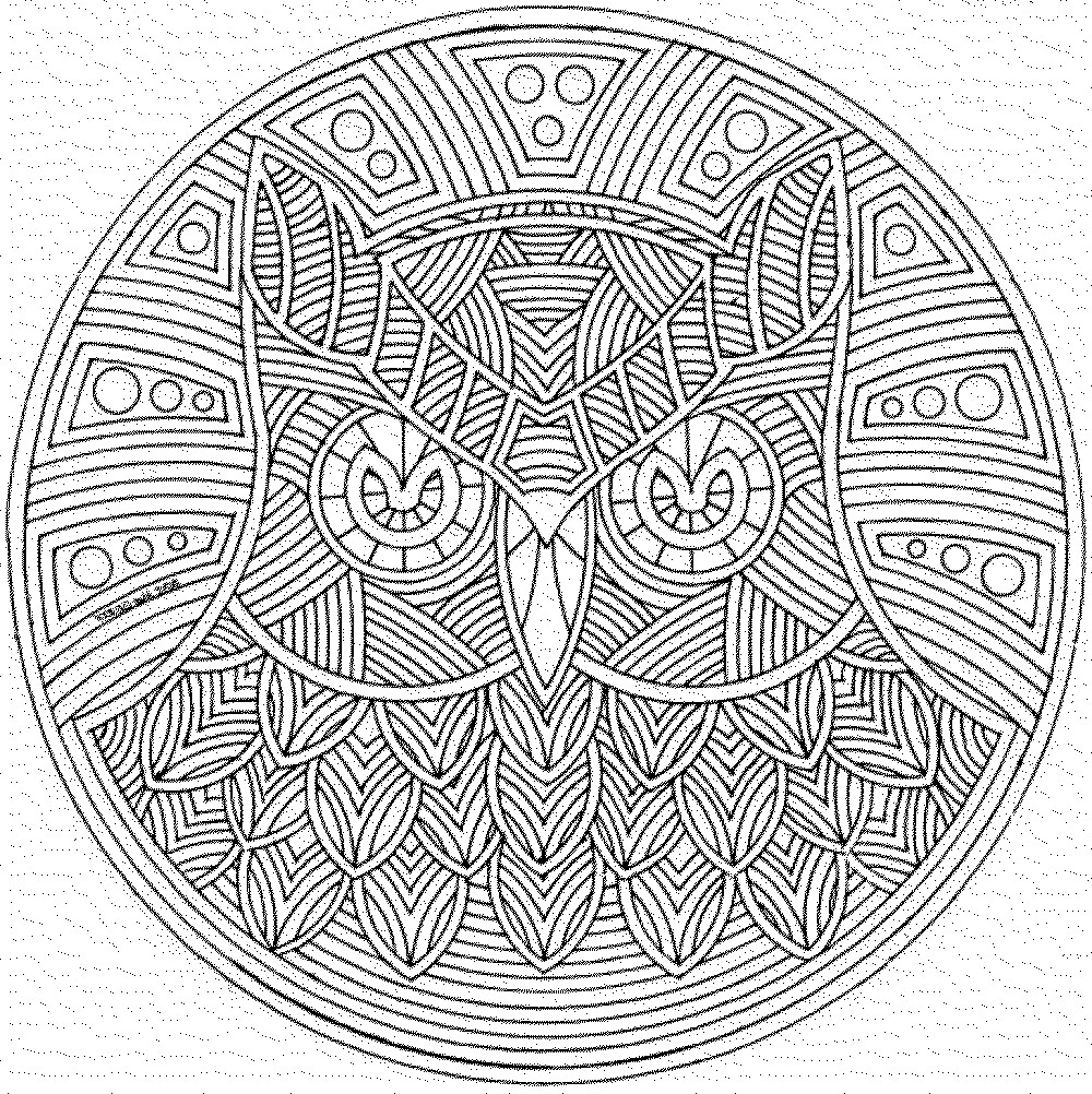 1000x1002 Geometry Coloring Pages Pdf Geometric Animal Kids Awesome