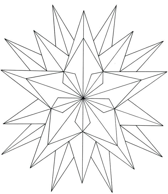 650x750 Geometric Coloring Page Geometric Coloring Sheets Geometric