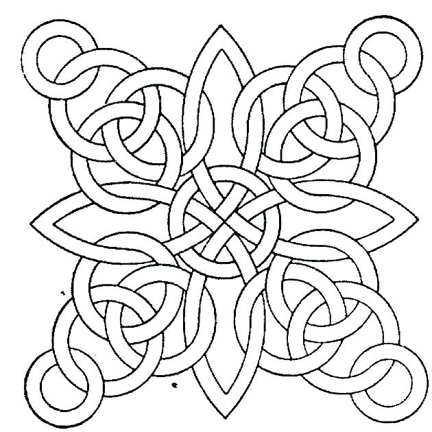 630x630 Geometric Coloring Pages Pdf Geometric Coloring Page Geometric