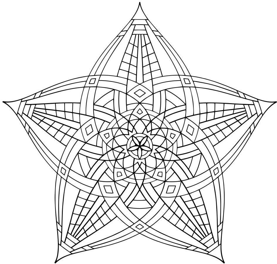 944x898 Geometric Coloring Pages Coloring Mandala, Adult