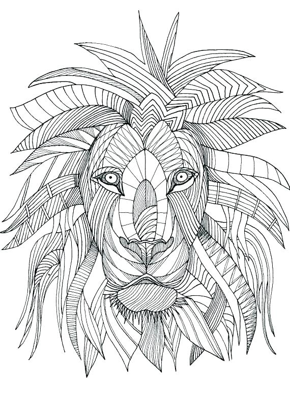 570x813 Geometric Coloring Pages For Adults Geometric Shapes Coloring
