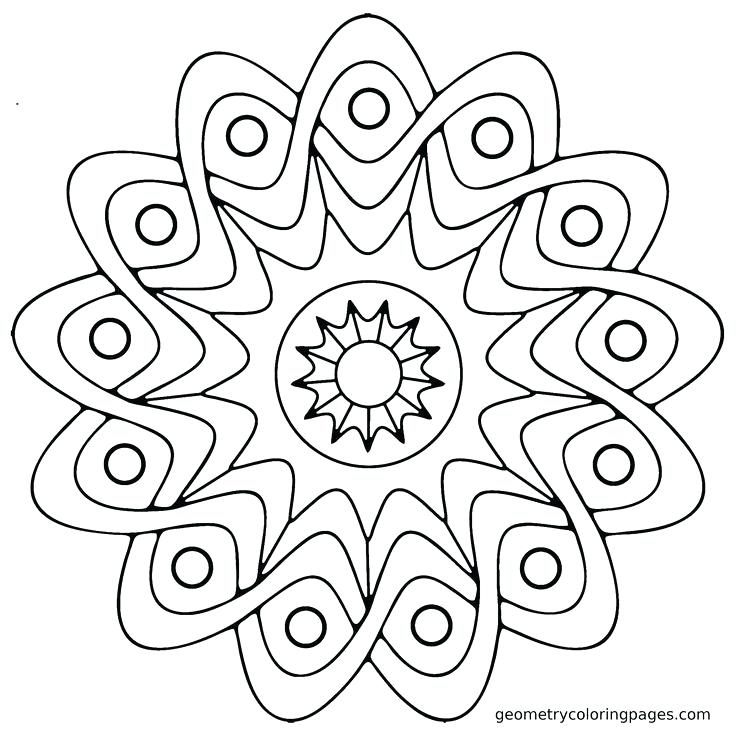 Geometric Coloring Pages For Adults at GetDrawings.com | Free for ...